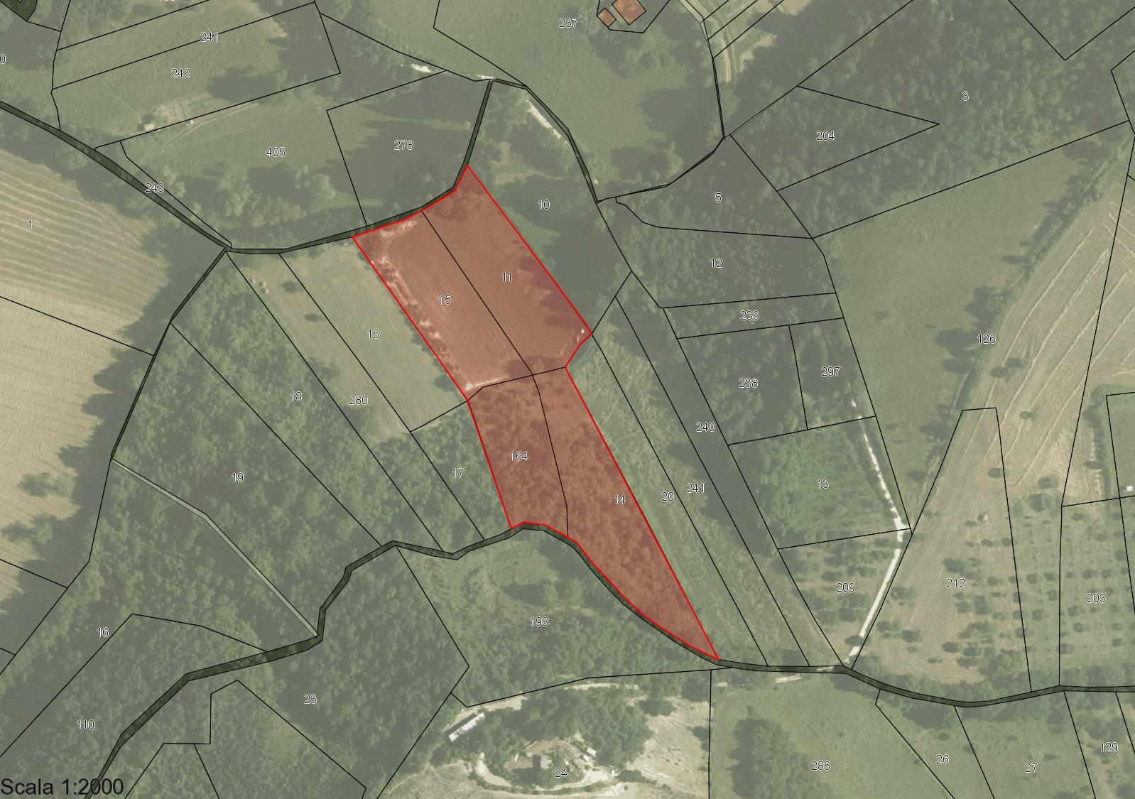 Matelica Frazione Braccano, vendesi terreno agricolo - 1