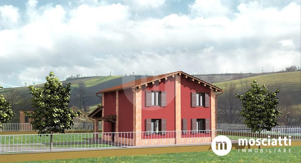 Matelica, Frazione Piane, vendesi villa singola con giardino di prossima realizzazione - 1